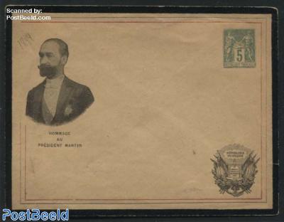 Envelope 5c, Hommage au president Martyr