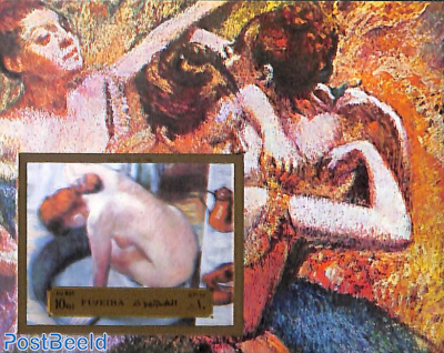 Degas painting s/s, imperforated