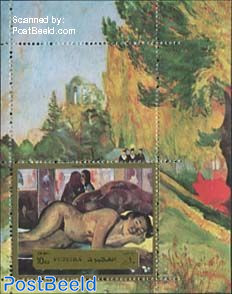 Gaugin painting, Nevermore s/s