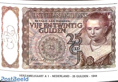 25 Gulden 1944