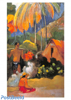 Paul Gaugin, Paysage de Tahiti