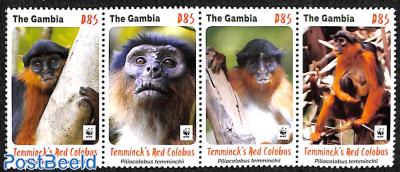 WWF, Monkeys 4v [:::] or [+]