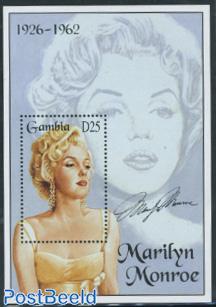 Marilyn Monroe s/s (yellow dress)