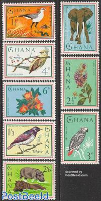 Flora/fauna 8v