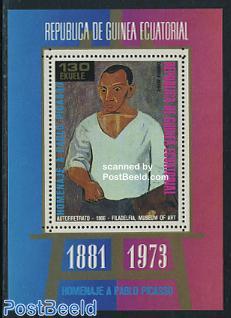 Picasso s/s, blue period