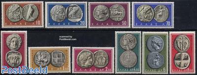 Antique coins 10v
