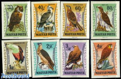 Birds of prey 8v imperforated