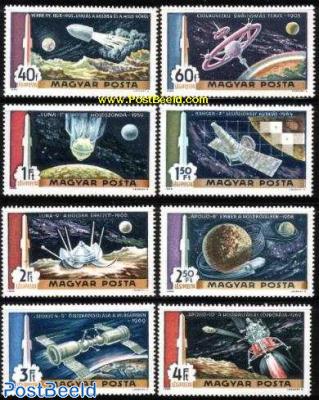 Moon flights 8v