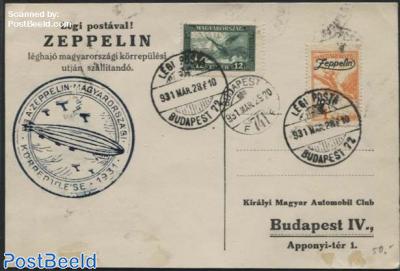 Zeppelin flight
