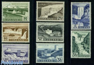 Waterfalls & Electricity dams 8v