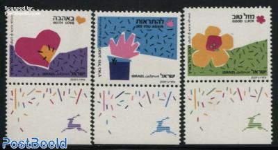 Wishing stamps 3v