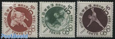 Olympic games Tokyo 3v