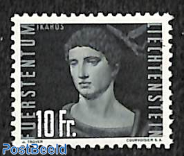 10Fr, Stamp out of set