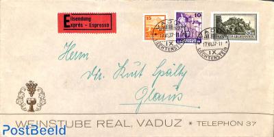 Express mail to Glarus