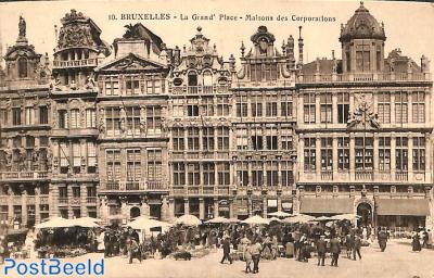 Bruxelles, La Grand Place