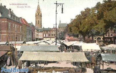 's-Gravenhage, Groote Markt