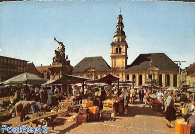 Mannheim, markt