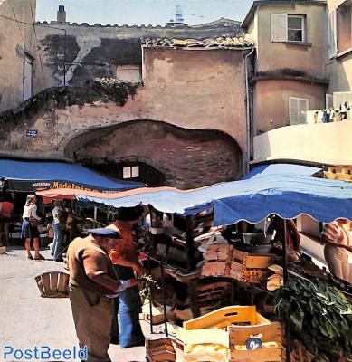 St. Tropez, les marchands