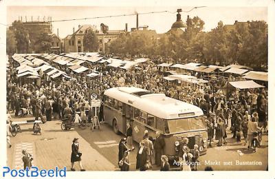 Apeldoorn, Markt met busstation