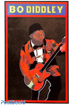 Bo Diddley, by Peter Blake 1963/64