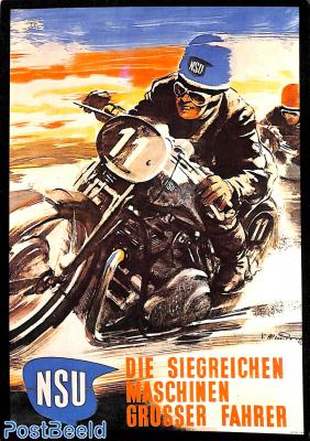 NSU Die Siegreichen Maschinen Grosser Fahrer