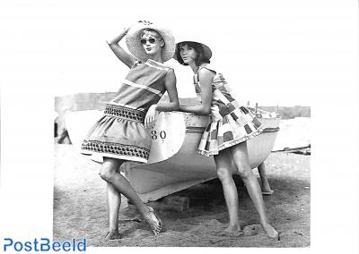 Beach fashion from Bessie Becker, Munich 1957