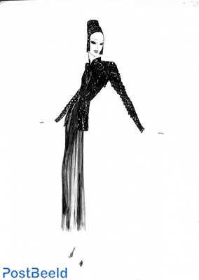 Antonio del Castillo, Robe de cocktail 1936