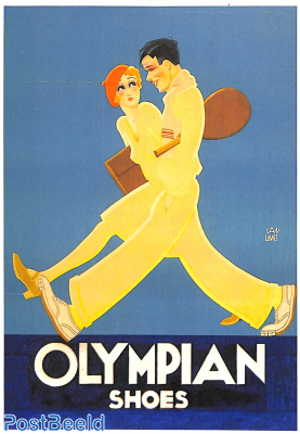 Olympian shoes (advertising poster 1931)