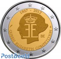 2 euro 2012 Queen Elizabeth Competition