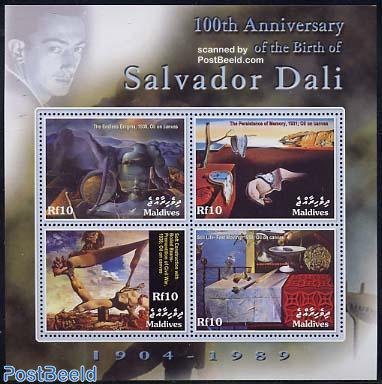Salvador Dali 4v m/s