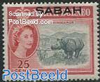 Sabah, 25c, Stamp out of set