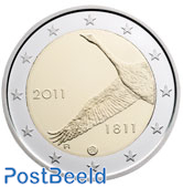 2 euro 2011 200 Years National Bank