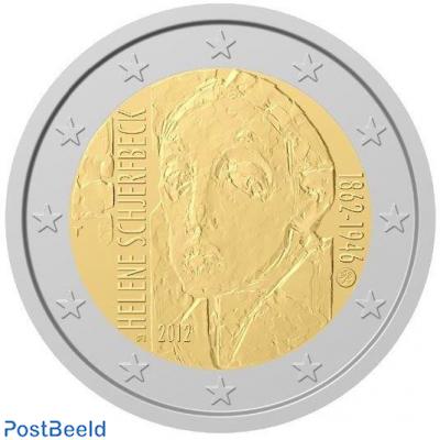 2 euro 2012 Helene Schjerfbeck