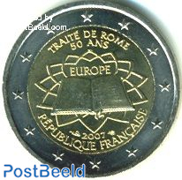 2 euro 2007 Treaty of Rome