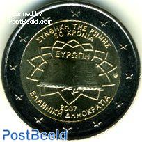 2 euro 2007 Treaty of Rome