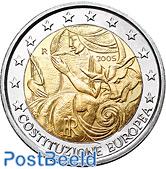 2 euro 2005 European Constitution