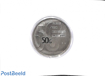 50 gulden, 50 years liberation