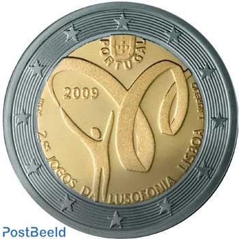 2 euro 2009 Lusofonia