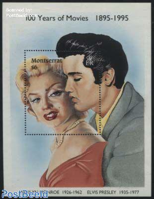 Elvis Presley, Marilyn Monroe s/s