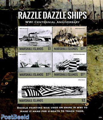 Razzle Dazzle Ships 5v m/s
