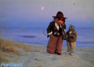Muppets, Piggy Hall en Woody Frog