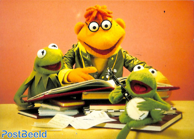 Kermit, Scooter and Robin