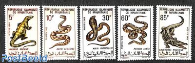 Reptiles 5v