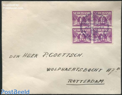 Rotterdam philatelic association, 100 Years stamps