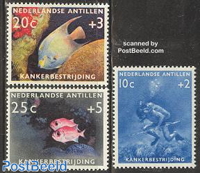 Anti cancer, fish, diving 3v