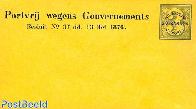 Envelope official mail, Landbouw Soerabaya Congres