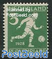 3c, Football, Stamp out of set