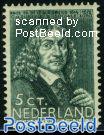 5+3c, F. de la Boe Sylvius, stamp out of set
