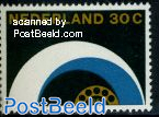 30c, Telephone automation, Stamp out of set