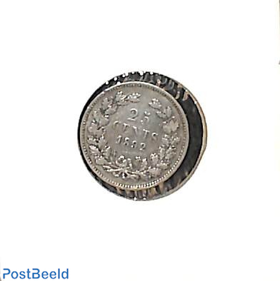 25 cents 1892